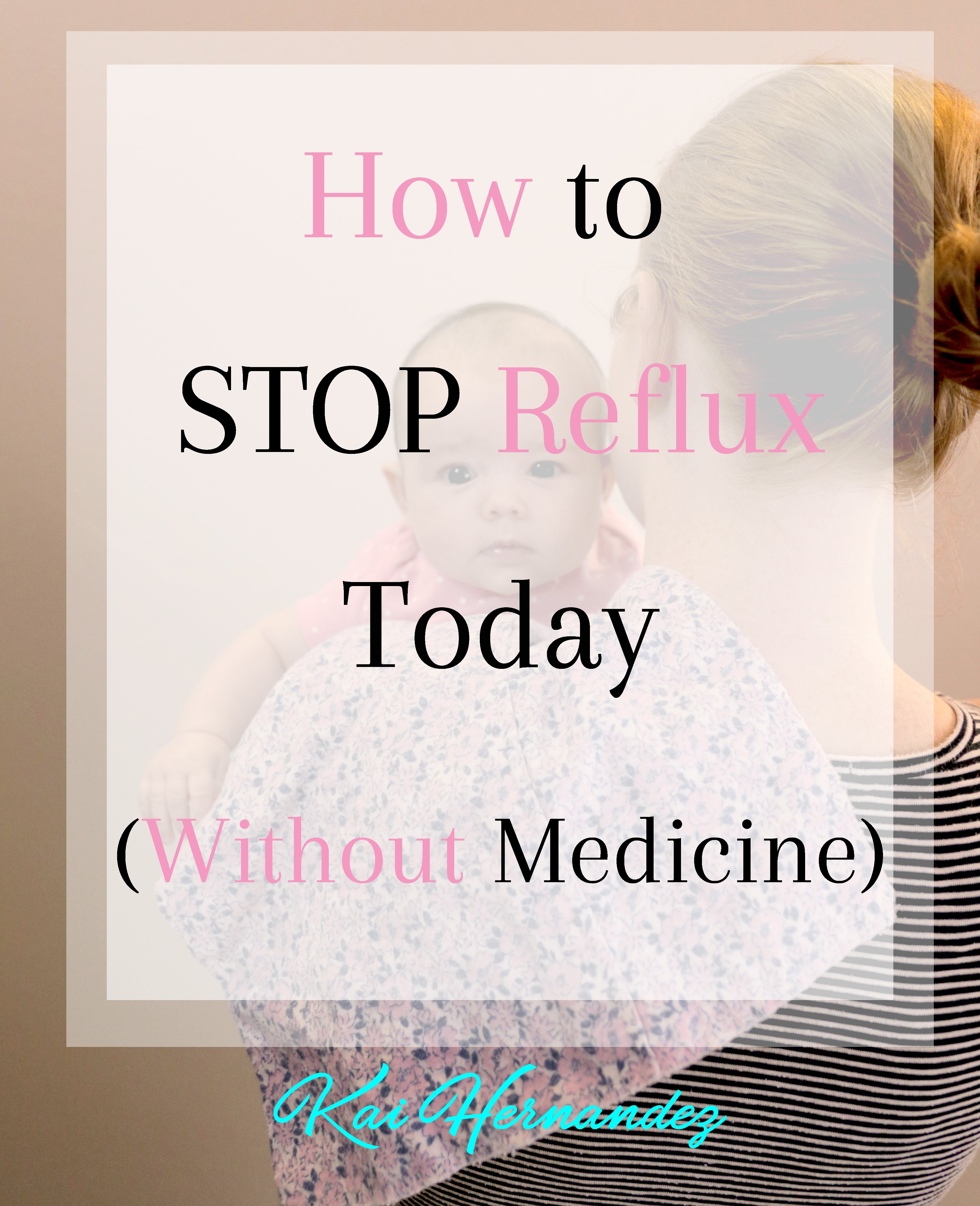 How to Stop Acid Reflux TODAY! #reflux #acidreflux #spitup